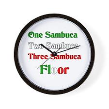Sambuca Wall Clock