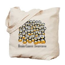 Brain Cancer Awareness Tote Bag