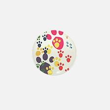 Paws Mini Button