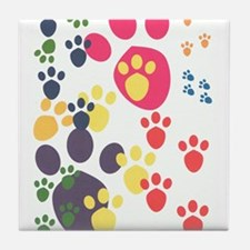 Paws Tile Coaster