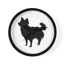 Chihuahua Longhair Wall Clock