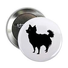Chihuahua Longhair Button
