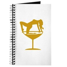 Sexy Cocktail Girl Journal