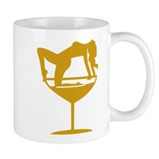 Sexy Cocktail Girl Mug