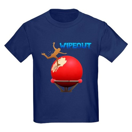 Wipeout Kids Dark T-Shirt