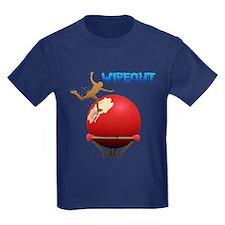 Wipeout Kids Dark T-Shirt
