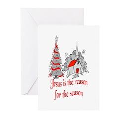 Jesus Greeting Cards (Pk of 10)