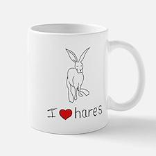 I Heart Hares Mug