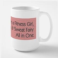 Workout Diva Large Mug