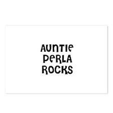 AUNTIE PERLA ROCKS Postcards (Package of 8)
