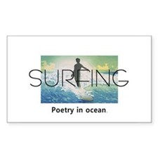 TOP Surf Poetry Decal