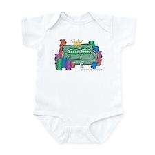 Sofa King Stacked Infant Bodysuit