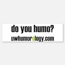 Humo Bumper Bumper Bumper Sticker