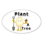 Arbor Day Oval Sticker (50 pk)