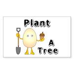 Arbor Day Rectangle Sticker 10 pk)