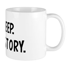Eat, Sleep, Study History Mug