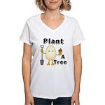 Arbor Day Women's V-Neck T-Shirt