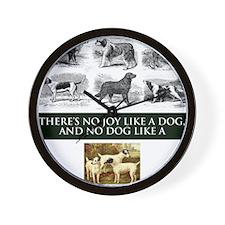Fox Terrier Wall Clock