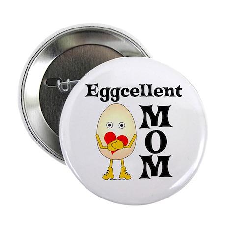 "Eggcellent Mom 2.25"" Button (100 pack)"