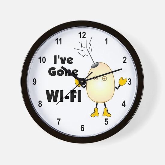 WI-FI Wall Clock