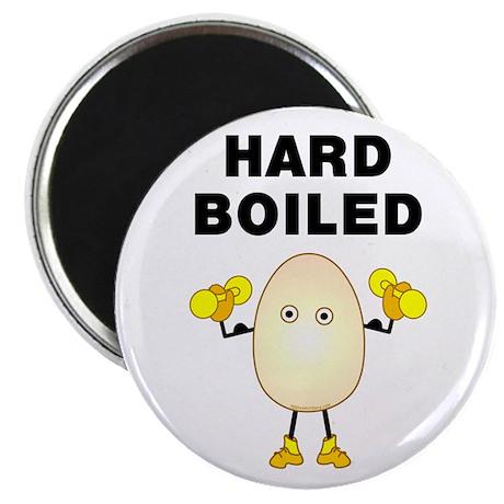 "Hard Boiled 2.25"" Magnet (10 pack)"
