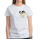 Pirate Egghead Pocket Image Women's T-Shirt