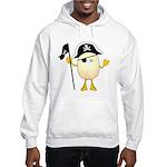 Pirate Egghead Hooded Sweatshirt
