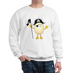 Pirate Egghead Sweatshirt