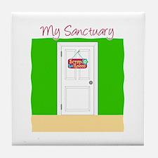 Sanctuary Tile Coaster