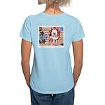 Americana 1: Home of the Brav Women's Light T-Shir