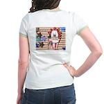 Americana 1: Home of the Brav Jr. Ringer T-Shirt