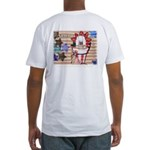 Americana 1: Home of the Brav Fitted T-Shirt