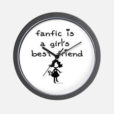 Fanfic Wall Clock
