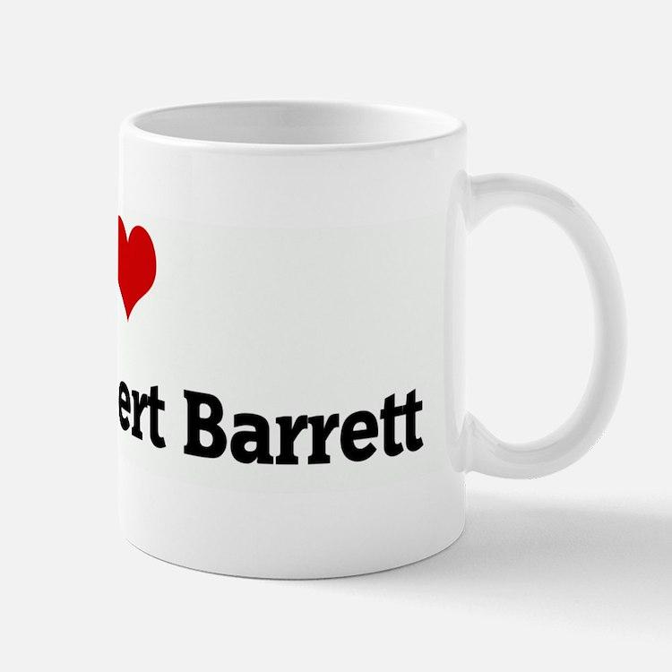 I Love Nick & Robert Barrett Mug