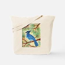 Ek's Blue Jay Tote Bag