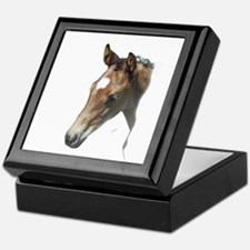 Cute American quarter horse Keepsake Box
