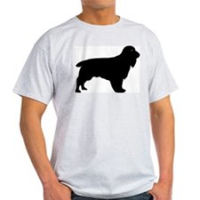 Field Spaniel Ash Grey T-Shirt