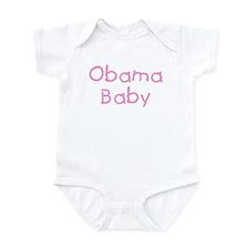 Obama Baby in Pink - Infant Bodysuit