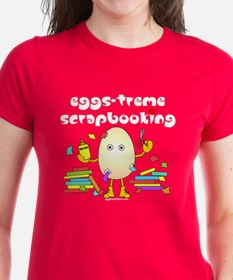 Eggs-treme Scrapbooking Tee