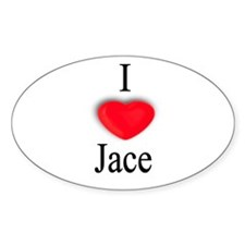 Jace Oval Decal