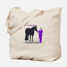 Cute Christmas horses Tote Bag