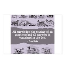 Kafka Dog Quote Postcards (Package of 8)