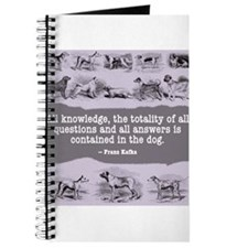 Kafka Dog Quote Journal