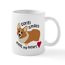 Corgi Smiles Melt My Heart Mug