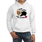 Corgi Smiles RHT Hooded Sweatshirt