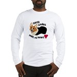 Corgi Smiles RHT Long Sleeve T-Shirt