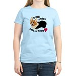 Corgi Smiles RHT Women's Light T-Shirt