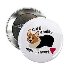 "Corgi Smiles RHT 2.25"" Button"