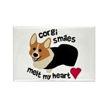 Corgi Smiles RHT Rectangle Magnet (100 pack)