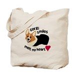 Corgi Smiles RHT Tote Bag